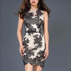 Jovani Lace Cocktail Dress